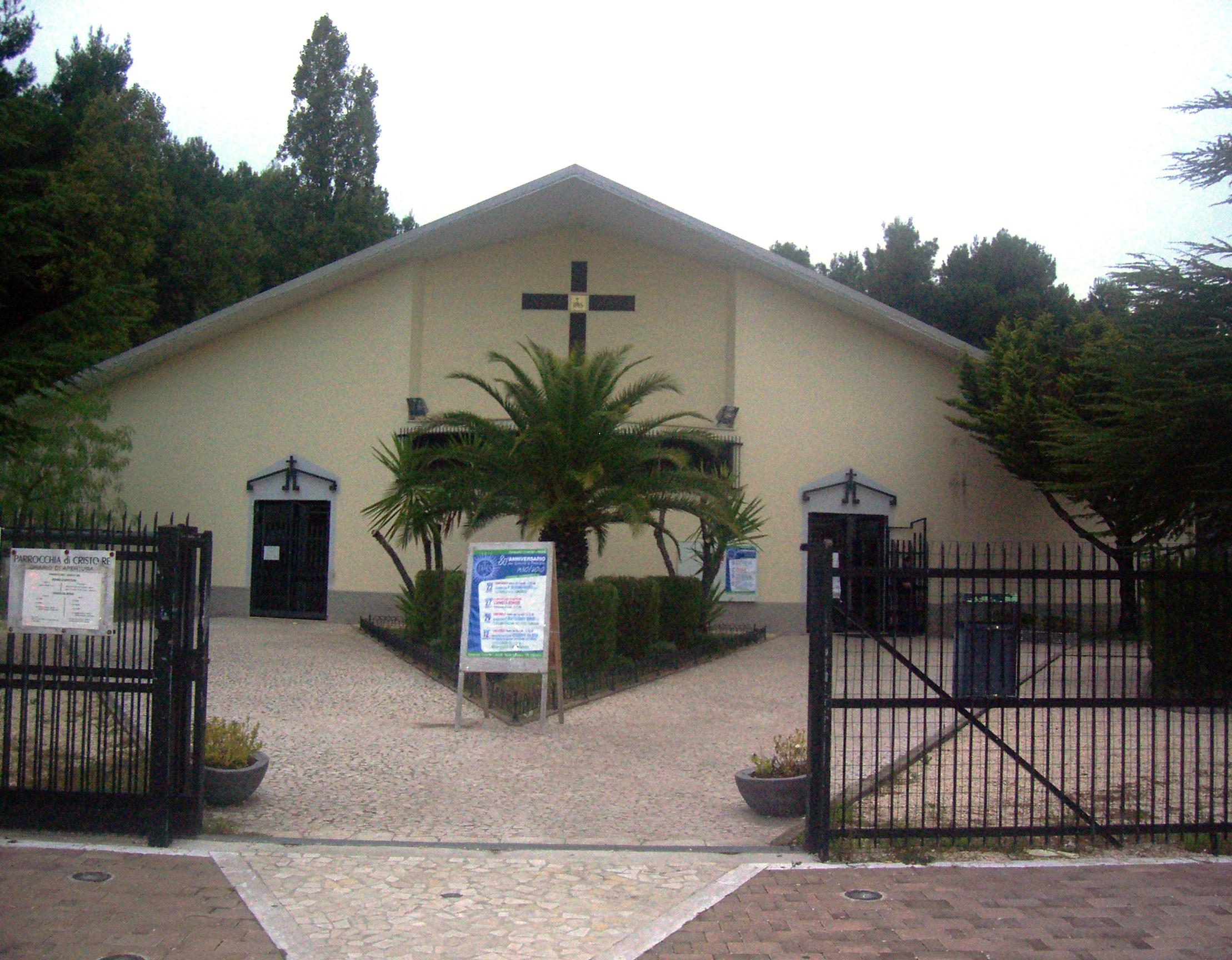La chiesa del Cristo Re