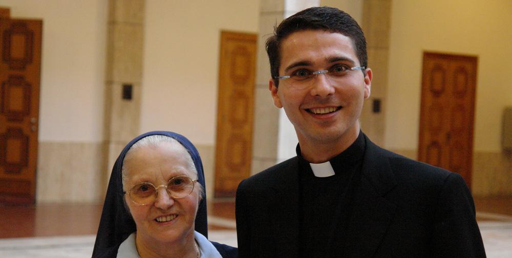 don Tommaso, parroco della Trasfigurazione