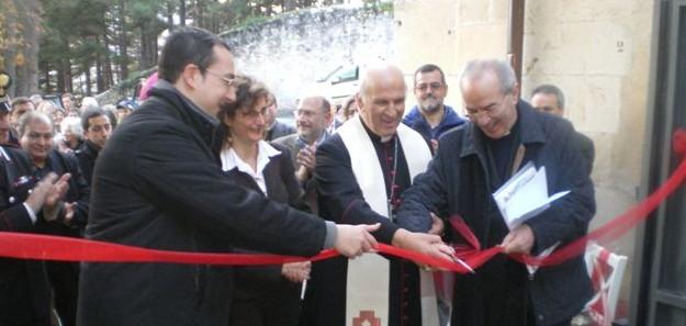 Inaugurazione centro di accoglienza