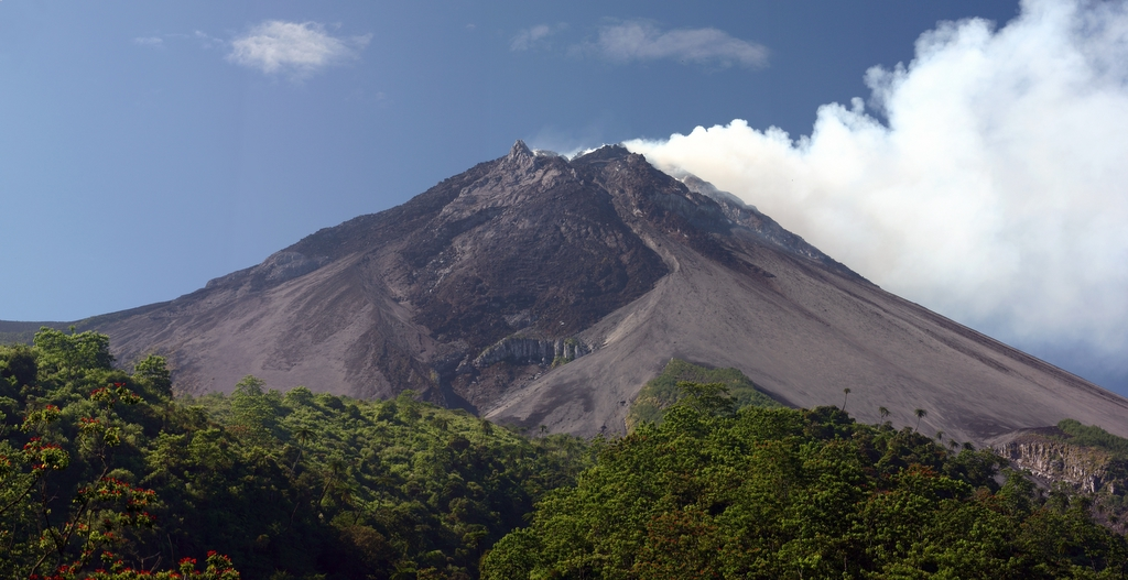 Merapi vulcano