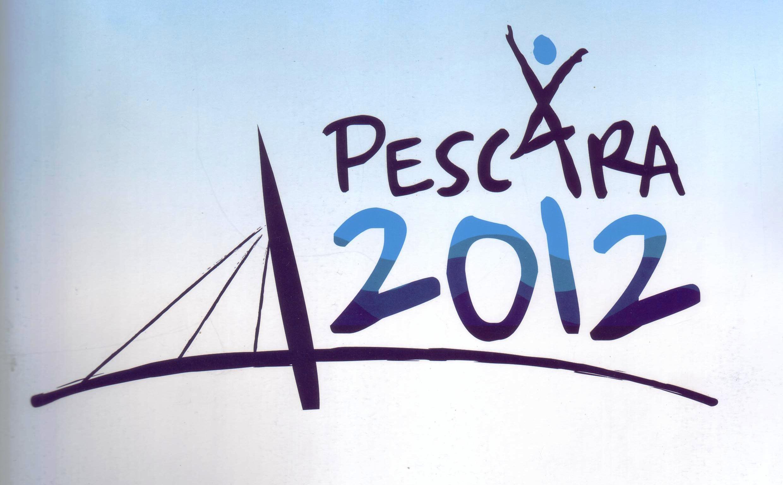 """Il logo di Pescara come """"città europea dello sport 2012"""""""
