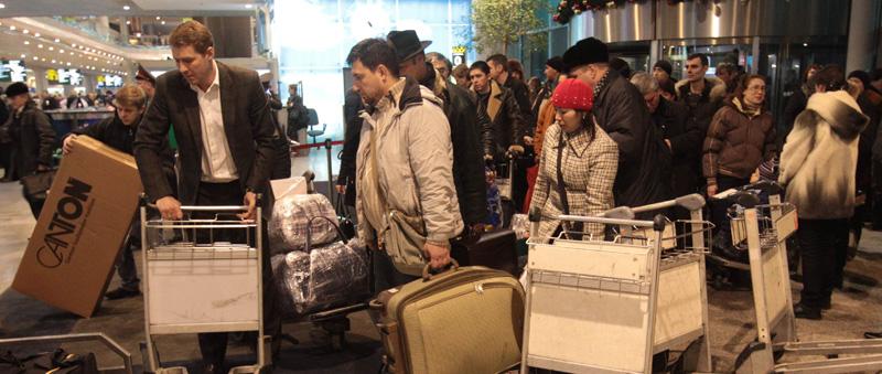 Blast hits Domodedovo airport
