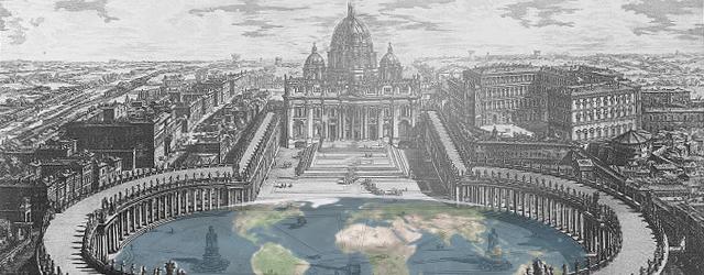 Incisione di Giovanni Battista Piranesi (Particolare. Elaborazione grafica G. M.)