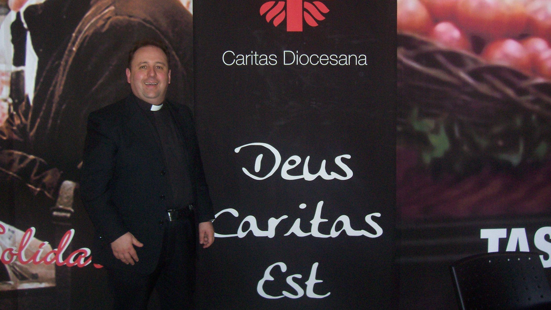 Il direttore della Caritas don Marco Pagniello