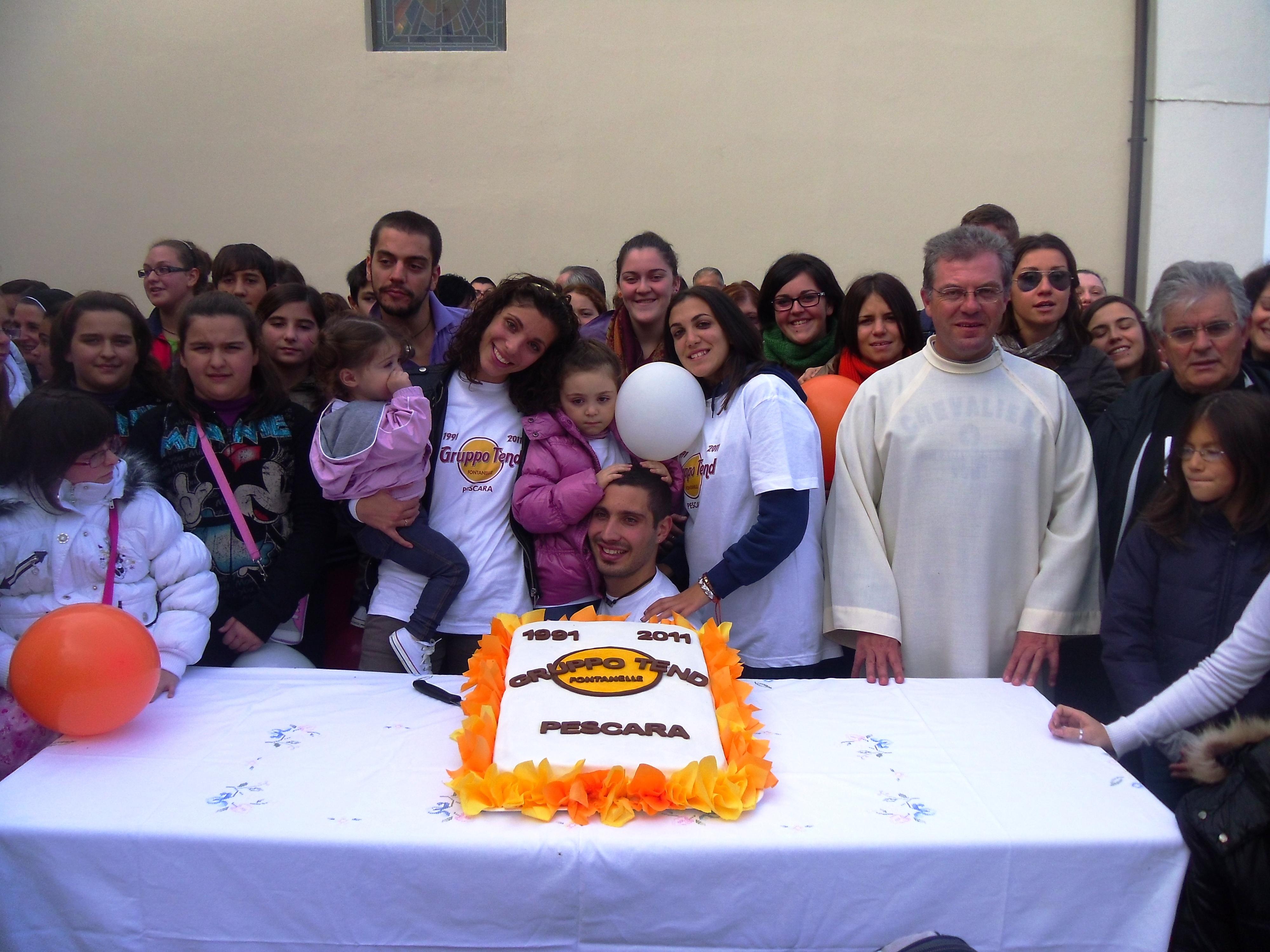 Il gruppo Tend della parrocchia di Fontanelle