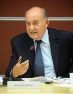 Giuseppe De Rita, presidente del Censis