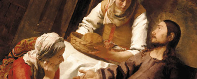 Cristo nella casa di Marta e Maria(P.P.Rubens)