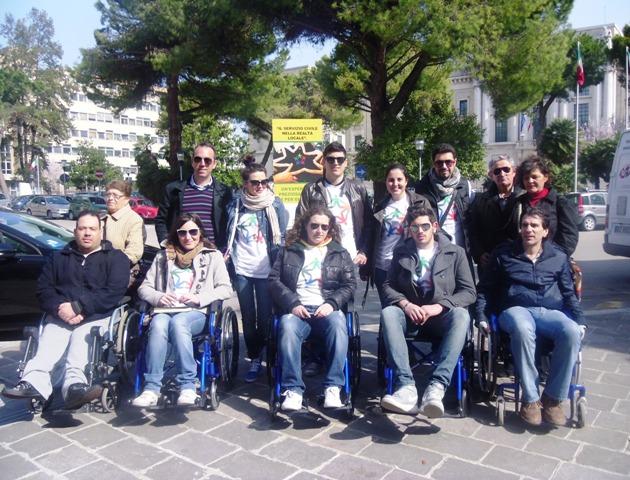 servizio civile foto gruppo