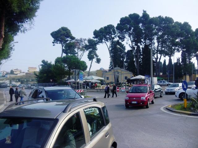Traffico a Montesilvano
