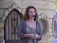 Maria Grazia Palusci, direttrice del coro