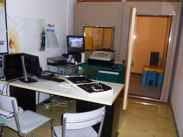 laboratorio audio-vestibologia