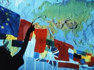 Europa bandiere