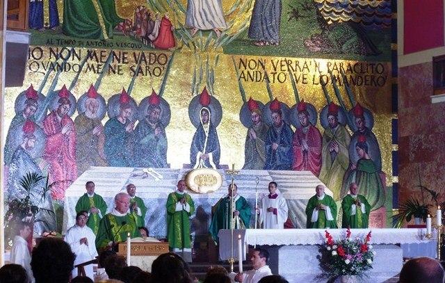 altare messa Rai