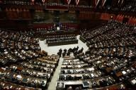 L'aula della Camera dei Deputati a Montecitorio