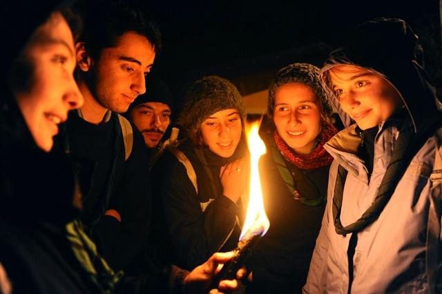 L'AQUILA 31-12-2009 42a MARCIA PER LA PACE - LA SANTA MESSA E' STATA PRESIEDUTA DA S.E. GIUSEPPE MOLINARI PH: CRISTIAN GENNARI