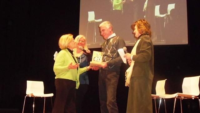 premiazione Di Francesco e Lidia Costantini