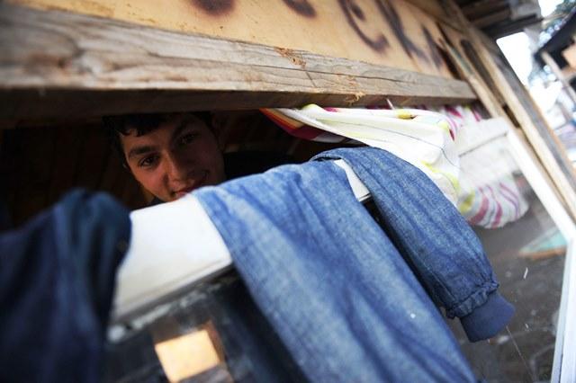ROMA 19-01-2010 CAMPO NOMADI CASILINO 900 SGOMBERO DEL CAMPO NOMADI CASILINO 900 PH: CRISTIAN GENNARI