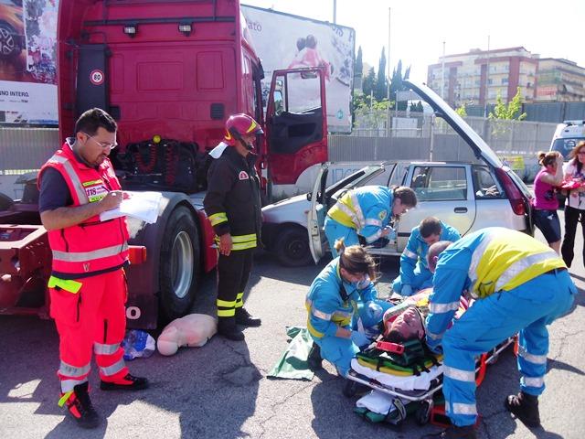 test primo soccorso croce rossa