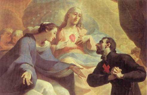 Un'immagine di San Camillo de Lellis