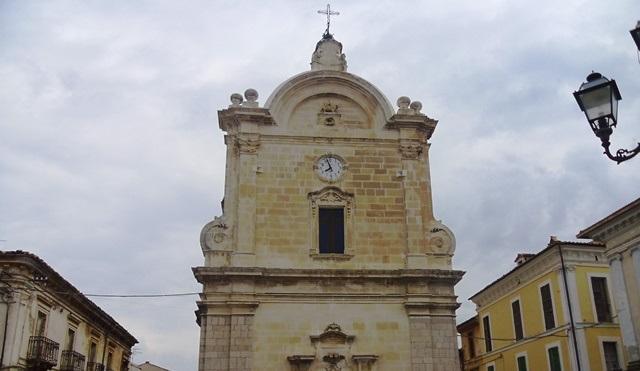 facciata chiesa San Giovanni Battista