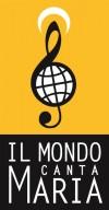 """Il logo del Festival """"Il mondo canta Maria"""""""