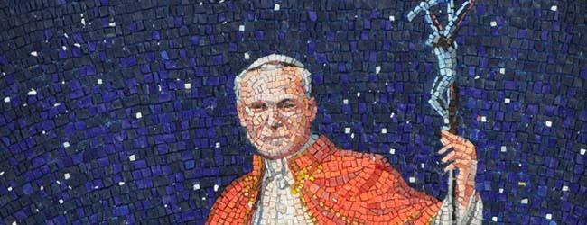 Giovanni Paolo II mosaico1