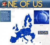 Il manifesto dell'iniziativa europea che raccolse 2 milioni di firme per la tutela degli embrioni