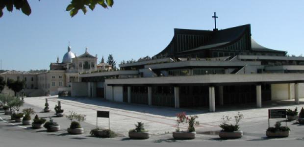 Il Santuario di San Gabriele dell'Addolorata ad Isola del Gran Sasso (Teramo)