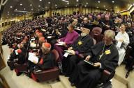 Un momento dei lavori sinodali