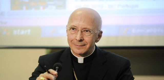 Cardinale Angelo Bagnasco, presidente della Conferenza episcopale italiana