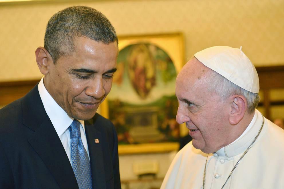 Obama con Papa Francesco