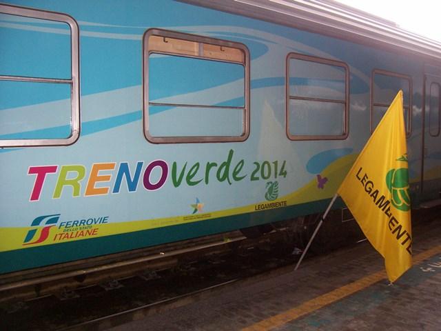 Il Treno verde ripartito ieri da Pescara