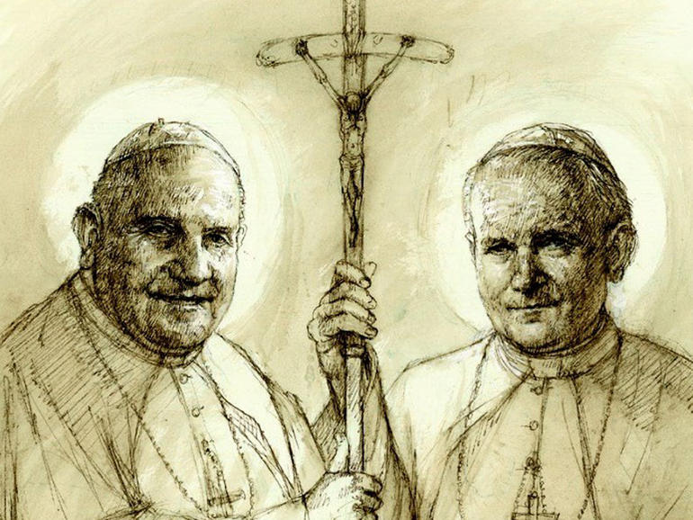 canonizzazione Papi