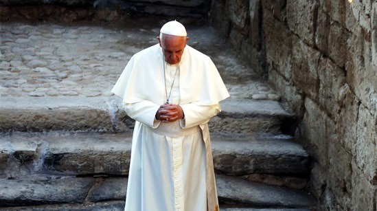 Papa Francesco-Terra Santa