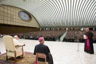 I circa 3.500 fedeli che hanno assistito all'udienza generale
