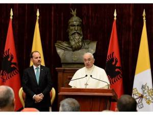 Papa Francesco in Albania