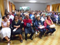 Gli operatori Caritas riunitisi al Centro Emmaus di Pescara