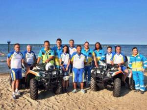 I volontari della Misericordia di Pescara