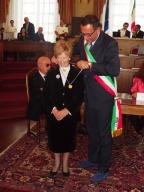 La premiazione di Annamaria Albertini