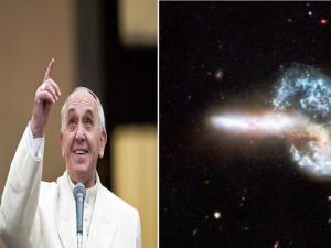 Papa Francesco-bing bang