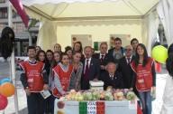 Uno stand dell'Aism a Pescara
