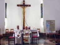 Lo sfondo della veglia missionaria diocesana