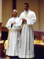 frà Piero Berti e don Luigi Marrone durante la celebrazione eucaristica