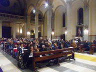 I tanti fedeli presenti nella Cattedrale di San Cetteo