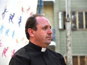 Don Marco Pagniello, direttore Caritas Pescara-Penne, fondatore dell'Emporio della Solidarietà