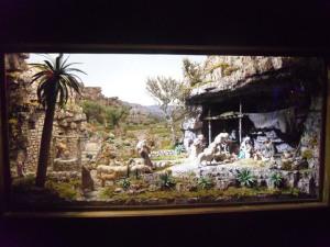 Un presepe artistico in mostra presso i locali parrocchiali di Sant'Antonio di Padova a Pescara