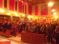 I rappresentanti delle aggregazioni laicali diocesane, presenti nella chiesa dello Spirito Santo
