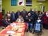 Soci e operatori del Centro diurno Aism Elsa De Leonardis, con il sindaco di