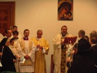 Mons. Valentinetti benedice le candele