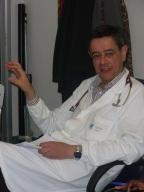 dottor Giustino Parruti, referente medico del progetto